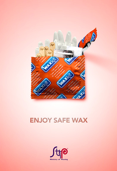 Strip: Enjoy Safe Wax